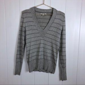 Banana Republic Silk Cashmere V-Neck Sweater Small